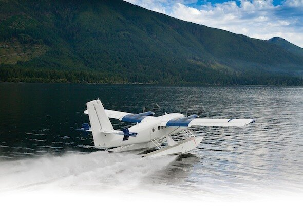 Viking Floats 400S Seaplane Derivative of Series 400 Twin Otter