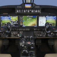 Hawker Pacific Debut the King Air 350i with Pro Line Fusion avionics